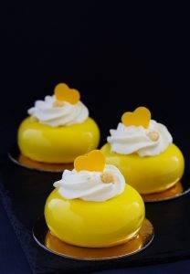 лимонный гель для декора кондитерских изделий