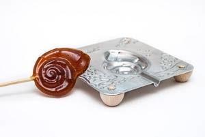 металлические формочки для леденцов  королевские ракушки