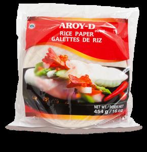 рисовая бумага AROY-D для приготовления блюд паназиатской кухни, роллов, блинов, нем.