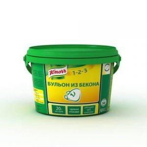 бульон Knorr со вкусом бекона для приготовления супов и бульонов