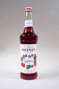 сироп с малиновым вкусом Монин в наличии
