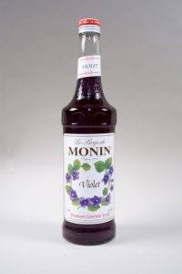 сироп Монин со вкусом фиалки для напитков и десертов