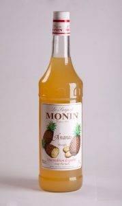 сироп монин со вкусом ананаса для кофе, напитков, десертов