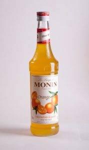 сироп монин со вкусом апельсина для напитков и десертов