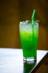 сироп для кофе и кондитерских изделий со вкусом зеленого яблока