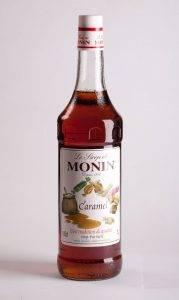сироп со вкусом карамели Монин для кофе, напитков и десертов