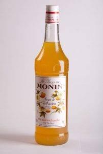 сироп со вкусом маракуйи от Монин