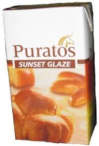 глазурь для покрытия клебобулочных и кондитерских издели от Пуратос