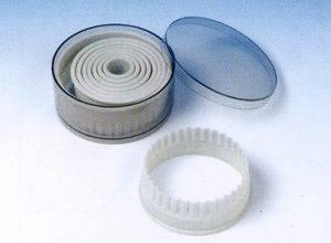 набор пластиковых выемок круг для теста и мастики
