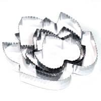 металлические вырубки для кондитерских изделий, печенья и пряников в виде листьев винограда