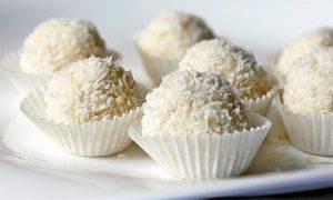 Паста десертная МЕКРАФ со вкусом рафаэлло