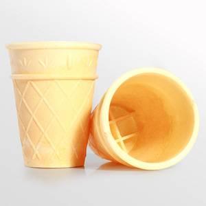 Вафельный стаканчик (высота 75 мм) для мороженого купить оптом