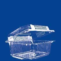 Пластиковый контейнер прямоугольный РК-6 (0,4 кг), 144*114*66 мм