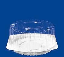 Купить упаковку, контейнер для торта, круглый Т-207 (1кг), 204*100 мм в Красноярске