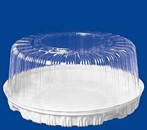 Купить упаковку  для торта, контейнер круглый Т-280 (3 кг), 280*135 мм