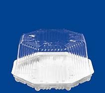 Купить восьмигранный контейнер для торта Т-401 (0,8 кг), 190*100 мм