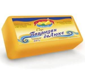 Сыр ПАРМЕЗАН ДЕ люкс (45% ) купить в Абакане