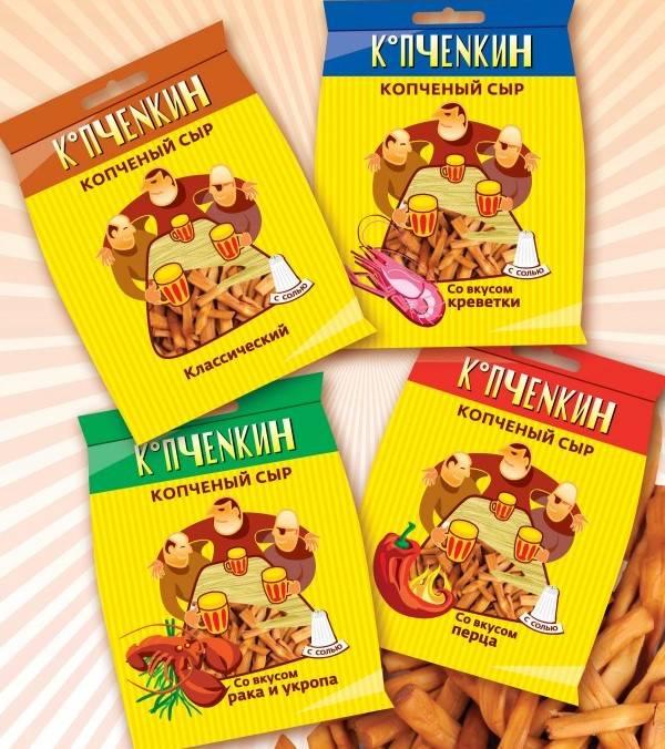 Копчёный сыр  КОПЧЁНКИН (в ассортименте) купить в Абакане