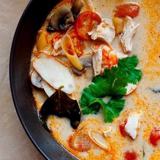 Суп том ям рецепт в домашних условиях пошаговый с фото