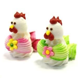 """фигурки для украшения тортов """"Петух"""", купить украшения для торта на новый год в виде символа года в Абакане, Красноярске, Канске"""