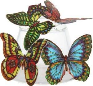 Вафельные цветы/листики/бабочки купить в Абакане