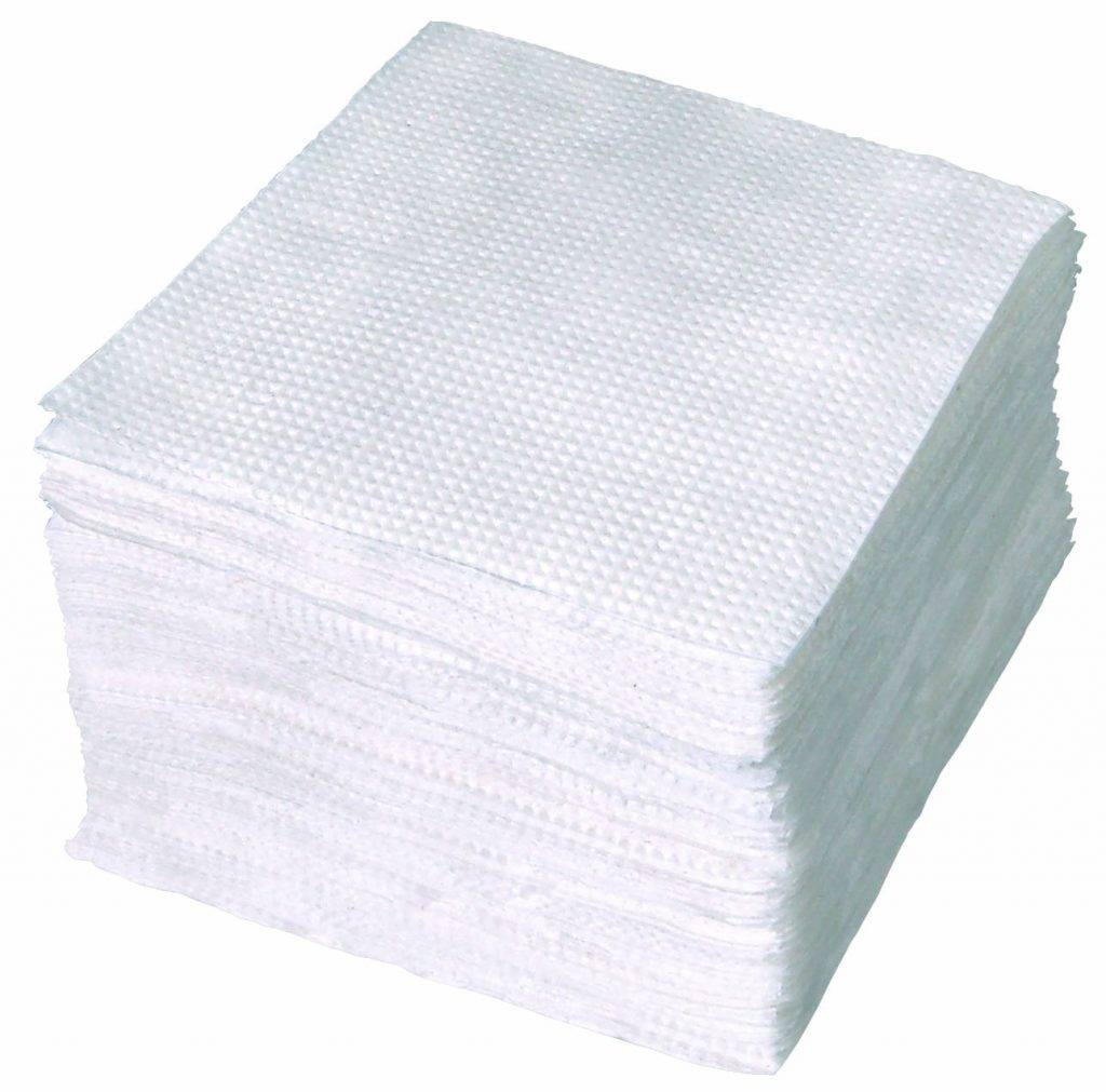 Салфетки эконом (100 лист., белые) оптом в Красноярске ,Абакане, Канске