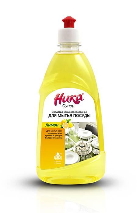 """""""НИКА"""" Супер - слабощелочное концентрированное средство для мытья посуды купить оптом недорого"""