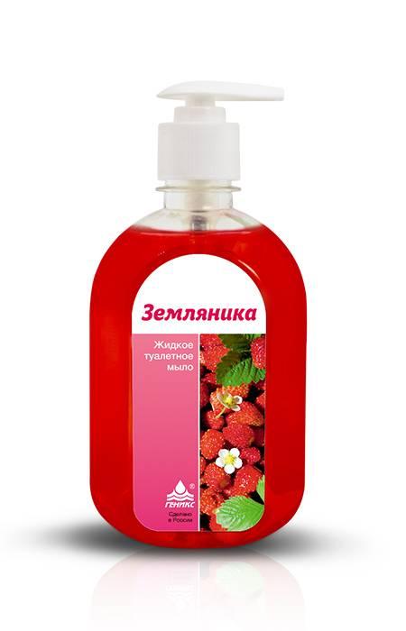 """""""НИКА"""" - жидкое мыло с ароматом земляники купить оптом недорого"""