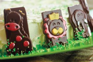 формочки для шоколада веселый зоопарк детские