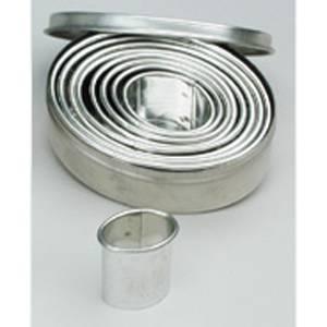 Форма-резак ОВАЛ (металл)