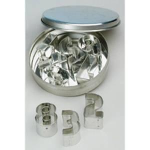 Форма-резак ЦИФРЫ (металл)
