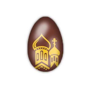 "Форма-лист для декора БЛИСТЕРШОК ""Яйцо (купола)"""