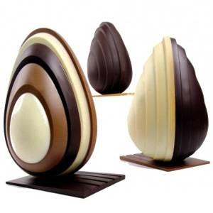 """Комплект форм для шоколада """"Яйцо прилив"""""""
