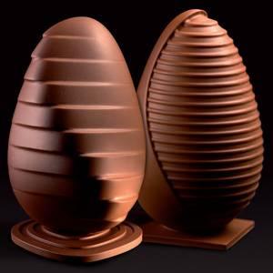 "Комплект форм для шоколада ""Яйцо шелл"""