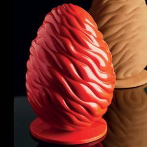 """Комплект форм для шоколада """"Яйцо флюид"""""""