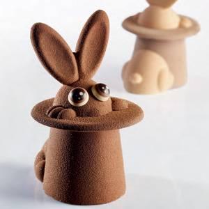 """Комплект форм для шоколада """"Волшебный зайчик"""""""