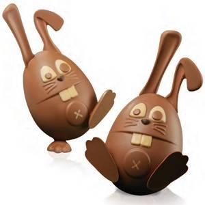 """Комплект форм для шоколада """"Кролик"""""""