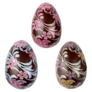 """Форма-лист для декора БЛИСТЕРШОК """"Яйцо (цветы)"""""""
