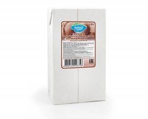 """Готовая жидкая смесь для мороженого шоколадная """"Чудское озеро"""" ультрапастеризованная 4,8%"""