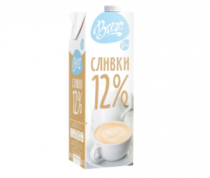 """Молочные сливки """"Brise"""" ультрапастеризованные нежирные 12%"""