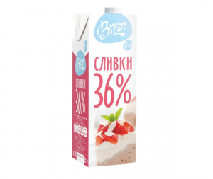 """Молочные сливки """"Brise"""" ультрапастеризованные жирные 36% купить в Абакане, Красноярске, Канске"""