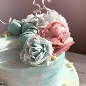 Курс по вафельной флористике (9-10 апреля)