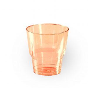 Стакан пластиковый (оранжевый)