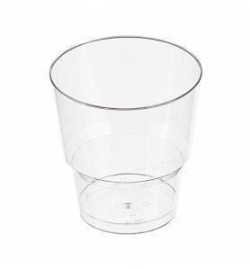 Стакан пластиковый (прозрачный)